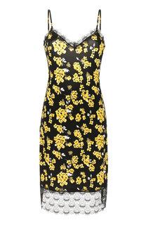 Платье с кружевной отделкой MICHAEL Michael Kors