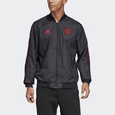 Гимновая куртка Манчестер Юнайтед adidas Performance