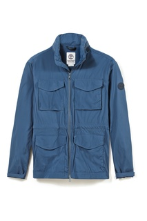 Голубая куртка с карманами Timberland