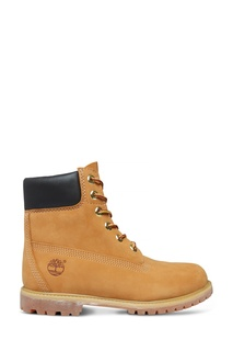 Высокие бежевые ботинки Timberland