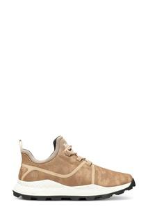 Светло-коричневые текстильные кроссовки Timberland