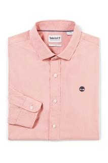 Розовая рубашка Timberland