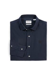 Темно-синяя рубашка Timberland