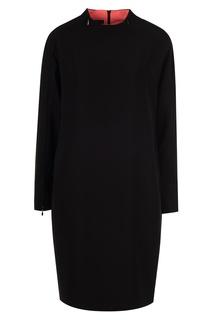 Платье свободного кроя Emporio Armani