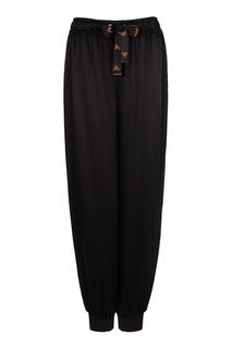 Объемные брюки-джоггеры Emporio Armani