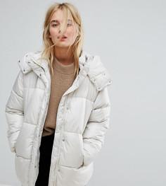 Дутая куртка Weekday - Бежевый