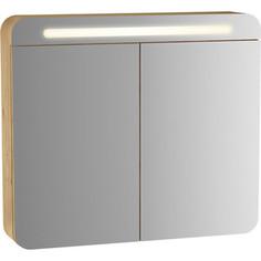 Зеркальный шкаф Vitra Sento 80 с подсветкой (60896)