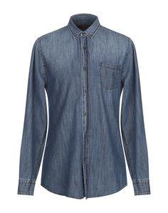 302ade5e21bf600 Мужские джинсовые рубашки Trussardi – купить в интернет-магазине ...