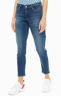 Джинсы Зауженные джинсы с заломами CKJ 021 Calvin Klein