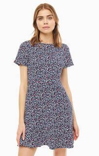 Платье Короткое платье с расклешенной юбкой Michael Kors