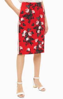 6142a867124 Женские юбки-карандаш с цветочным принтом – купить в интернет ...