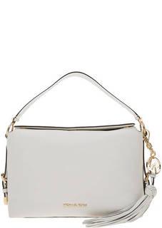 Сумка Кожаная сумка с широкой ручкой Brooke Michael Kors