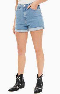 b39d854a6946 Шорты Короткие джинсовые шорты с отворотами Mavi