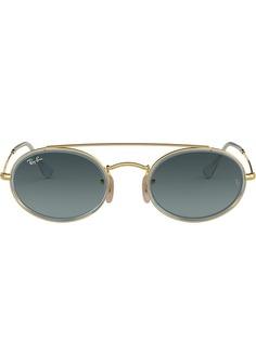 Ray-Ban овальные солнцезащитные очки с двойным мостом