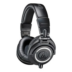 Наушники AUDIO-TECHNICA ATH-M50XBT, 3.5 мм/Bluetooth, накладные, черный
