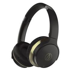 Наушники AUDIO-TECHNICA ATH-AR3BT, 3.5 мм/Bluetooth, накладные, черный