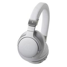 Наушники AUDIO-TECHNICA ATH-AR5BT, 3.5 мм/Bluetooth, накладные, серебристый