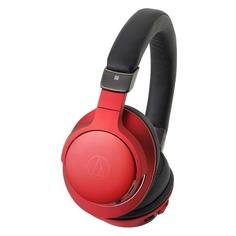 Наушники AUDIO-TECHNICA ATH-AR5BT, 3.5 мм/Bluetooth, накладные, красный