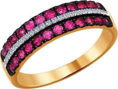Золотые кольца Кольца SOKOLOV 4010611_s