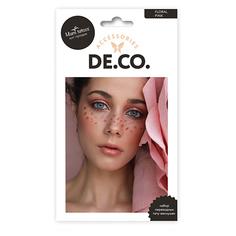 Набор переводных тату-веснушек DE.CO. by Miami tattoos Floral pink Deco