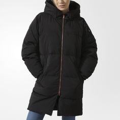 Удлиненная куртка-бомбер adidas Originals
