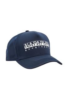 Темно-синяя бейсболка с логотипом Napapijri