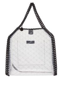 Прозрачная сумка с контрастными цепочками Stella Mc Cartney