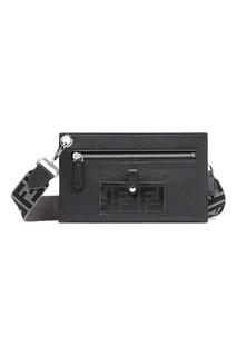 Черная сумка-кроссбоди Fendi