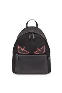 Комбинированный рюкзак с отделкой Fendi