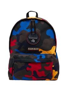 Рюкзак с камуфляжным принтом Napapijri