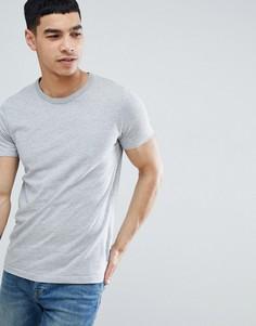 Базовая футболка с круглым вырезом French Connection - Серый