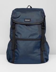 Темно-синий нейлоновый рюкзак French Connection - Синий
