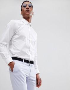 Приталенная поплиновая рубашка French Connection - Белый