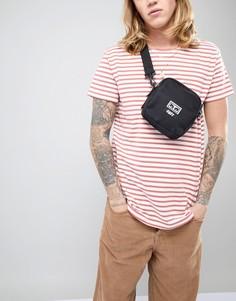 Черная сумка для полетов Obey Drop Out Traveler - Черный
