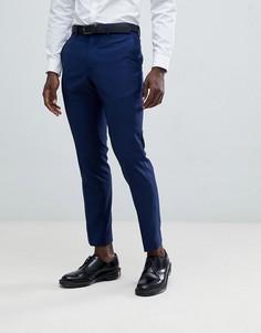 Узкие брюки French Connection - Синий