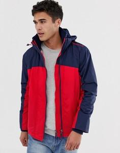 Красная ветровка с капюшоном Superdry Arctic exon - Красный
