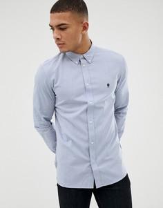 Оксфордская рубашка с длинными рукавами French Connection - Синий