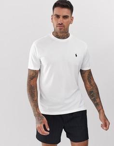 Белая футболка с логотипом в виде игрока в поло Polo Ralph Lauren Performance - Белый