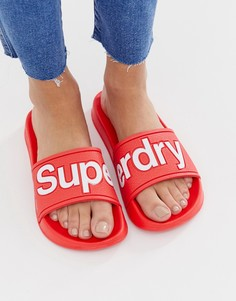 Шлепанцы для бассейна Superdry - Красный