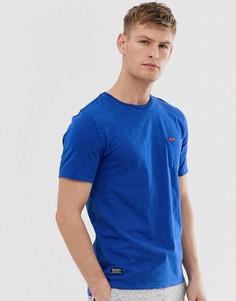 Футболка с карманом Superdry - Синий