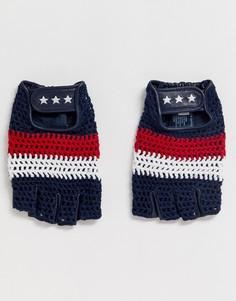 Перчатки без пальцев Gigi Hadid - Черный Tommy Hilfiger
