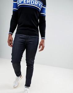 Узкие темные джинсы Superdry - Темно-синий