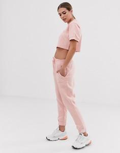 Розовые спортивные штаны adidas Originals Coeeze - Розовый