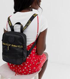 Рюкзак с отделкой кантом с логотипом Dr Martens - Черный