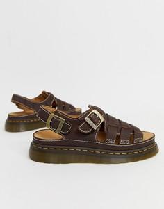 Темно-коричневые сандалии Dr Martens 8092 Arc - Коричневый