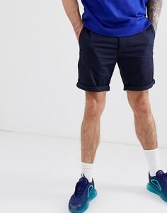 Темно-синие шорты чиносы G-Star - Bronson - Темно-синий