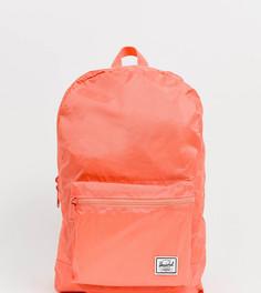 Неоновый складывающийся рюкзак Herschel Supply Co Daypack - Розовый