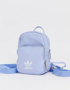 Светло-голубой миниатюрный рюкзак adidas Originals - Синий