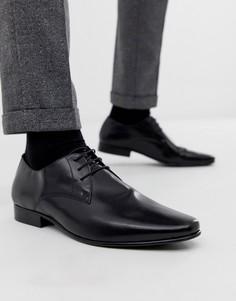 Черные туфли на шнуровке с пряжкой KG by Kurt Geiger - Черный