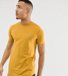 Длинная футболка с необработанным краем Le Breve Tall - Желтый